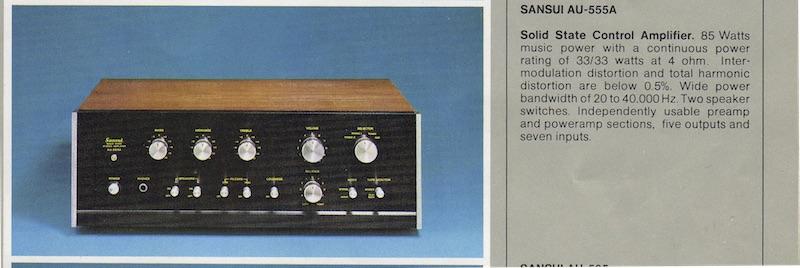 Sansui555A