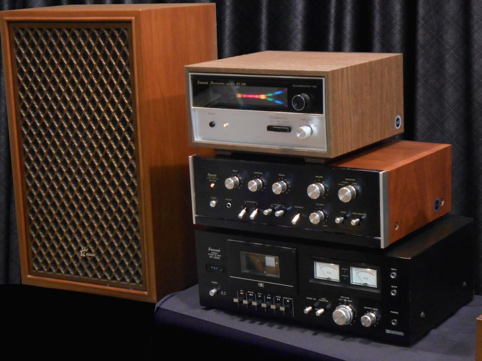 1973 Sansui 555a Hifi Component System The Vintage Hifi